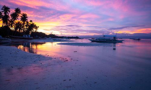 bohol-beach-sunset