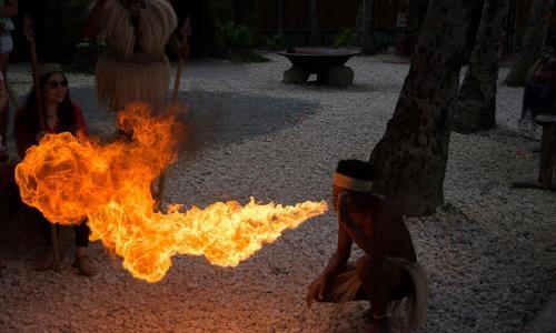 fire-blowing